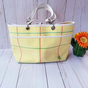 Lauren Ralph Lauren Vintage Plaid Purse Handbag